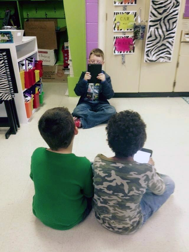 Recording fluency practice with an iPad
