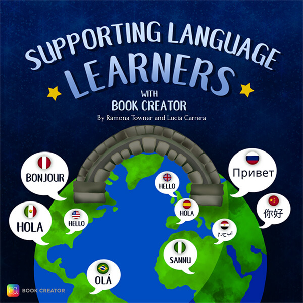 Supporting Language Learners with Book Creator front cover